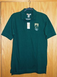 Men's HeadToToe Cotton Green Polos