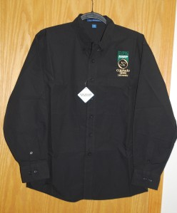 Men's Port Authority Black Button Up