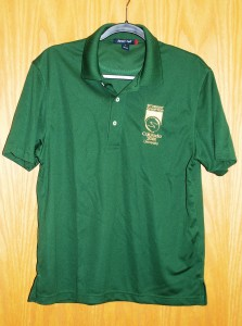Men's SportTek Polo Green