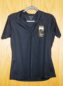 Women's SportTek Polo Black