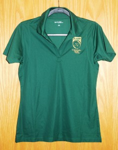 Women's SportTek Polo Green