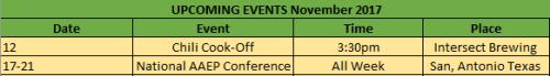 Nov Events